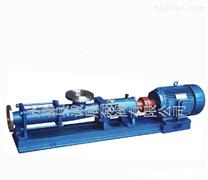 诚展泵阀:不锈钢G型单螺杆泵