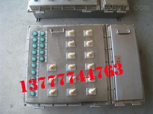 BXM(D)不锈钢防爆配电箱