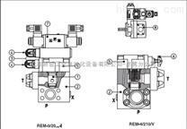 意大利ATOS溢流阀,阿托斯REM系列两级溢流阀