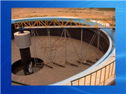WNG浓缩池悬挂式中心转动刮泥机安装图