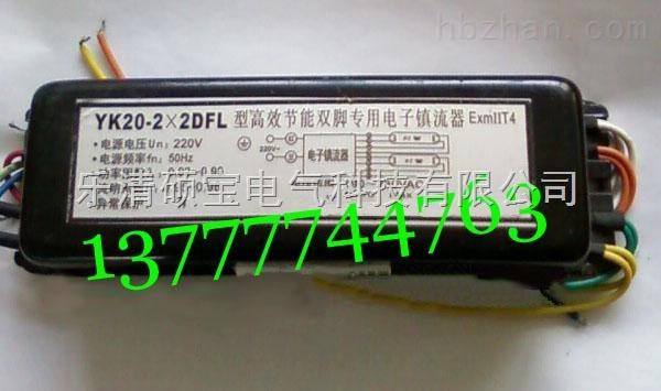 YK18-2×DFL型高效节能单脚防爆电子镇流器