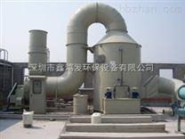 喷淋+生物剂吸附组合法治理家具喷漆废气 废气处理工程