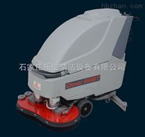手推式双盘刷洗地机,多功能全自动洗地吸干机