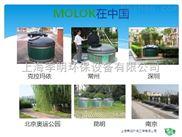 季明环保 供应zui新式地埋式垃圾桶 出口瑞典 技术先进