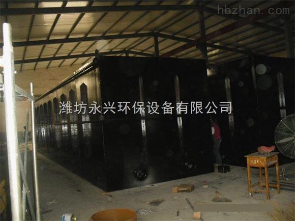 酒泉污水处理设备现场安装图