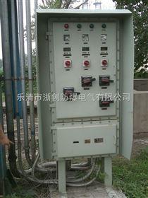 室外立式防爆配电箱带防雨罩