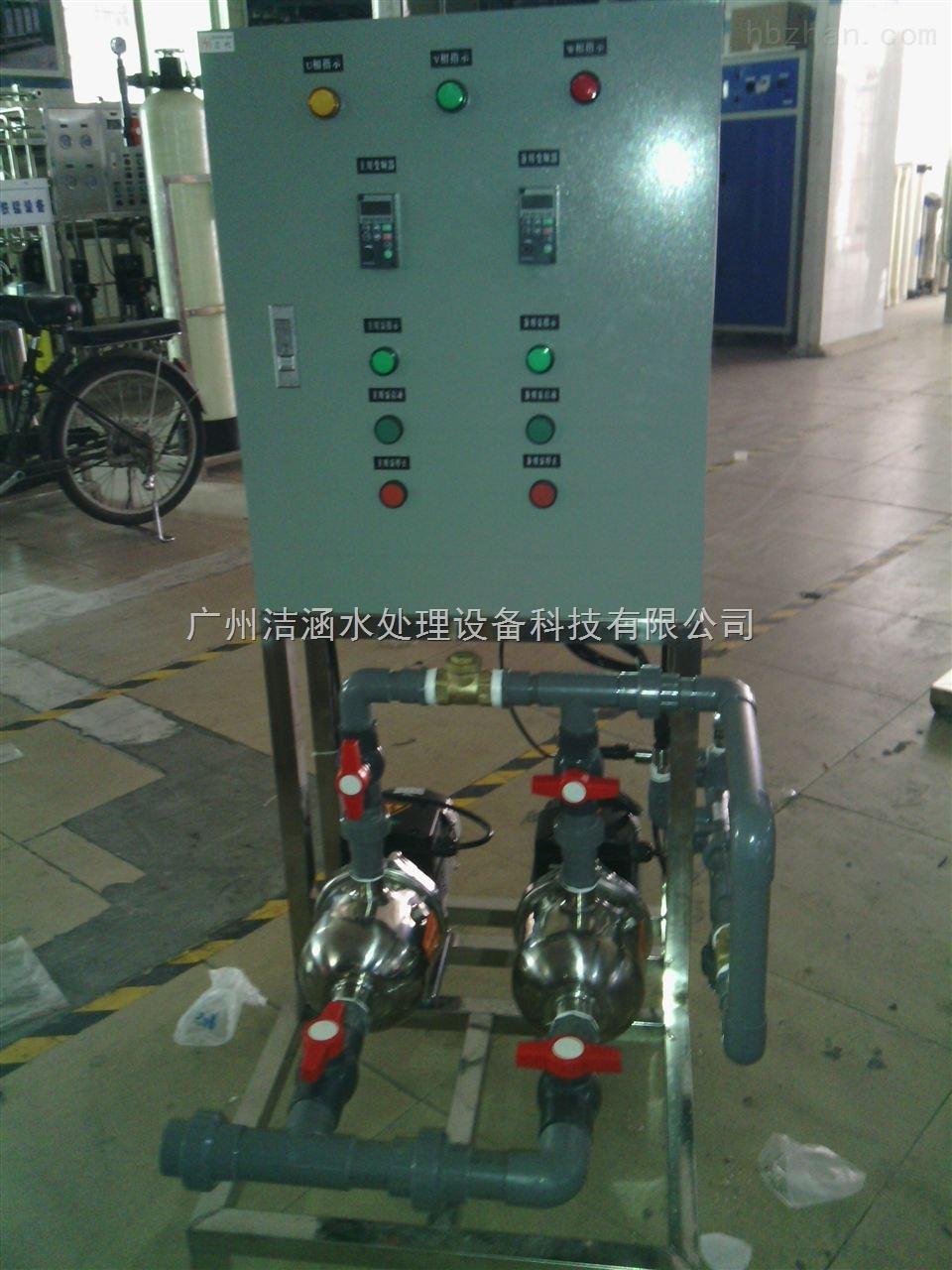 变频供水装置 双泵双频一用一备变频供水设备