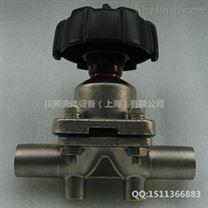 手動衛生級焊接隔膜閥