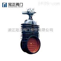 Z945X-10型鑄鐵電動暗杆軟密封閘閥