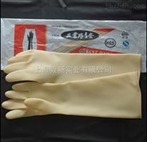 威蝶工业(45CM)耐酸碱手套 中厚加厚劳保工业乳胶手套