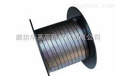 耐高温高压电厂柔性石墨盘根,石墨垫