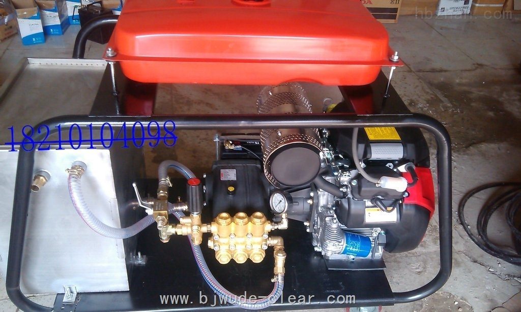 DL1750-柴油机驱动高压清洗机