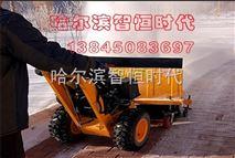 牡丹江除雪設備街道小型掃雪機價格