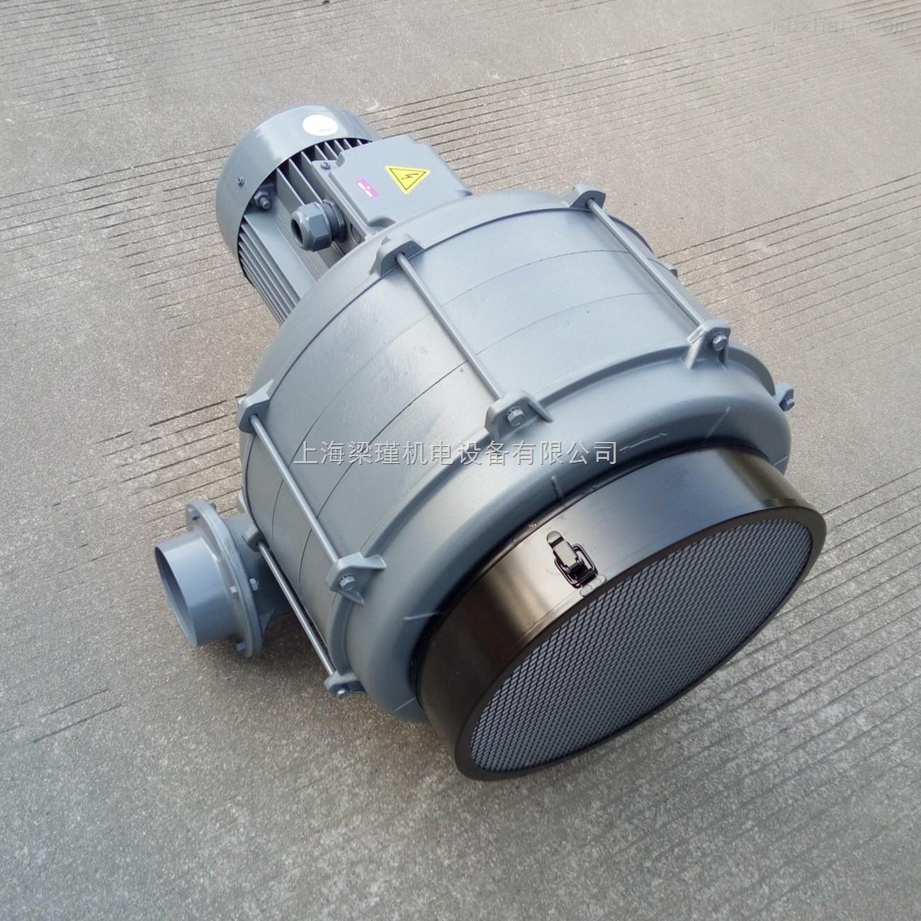 HTB125-704多段风机-7.5HP全风透浦式鼓风机