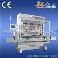 上海新浪全自动水剂灌装机设备
