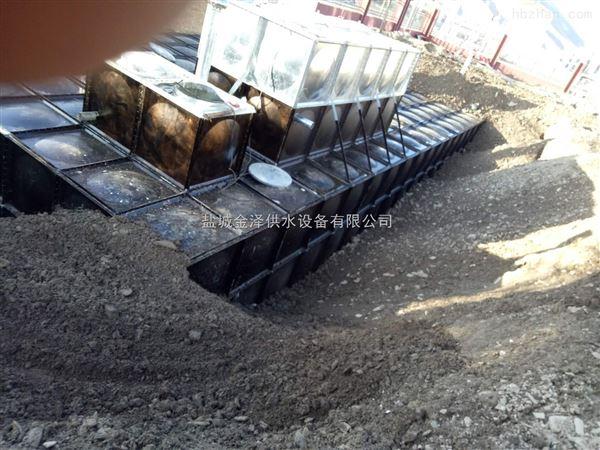 广西南宁216吨埋地一体化消防泵站