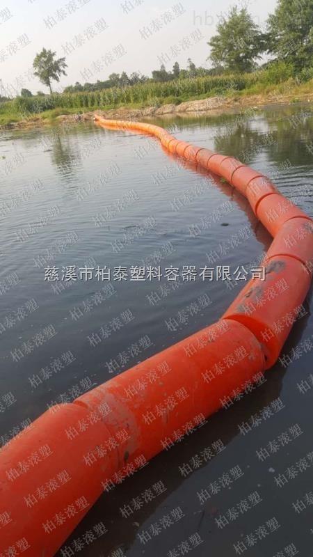河道保洁设施 围垃圾拦截浮筒厂家