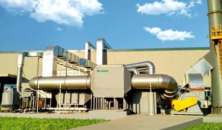定制|上海兰宝环保为SEW集团提供喷漆废气VOCs治理工程