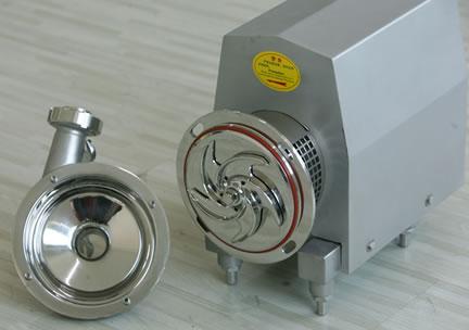 不锈钢卫生泵产品内部图