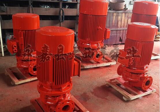 恒压消防泵型号 流量 q(l/s) 扬程 h(m) 转速 n(r/min) 配带电机型号