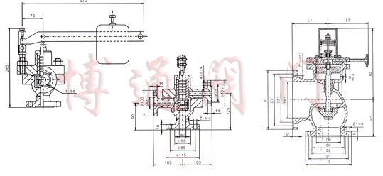 发电厂锅炉结构原理图