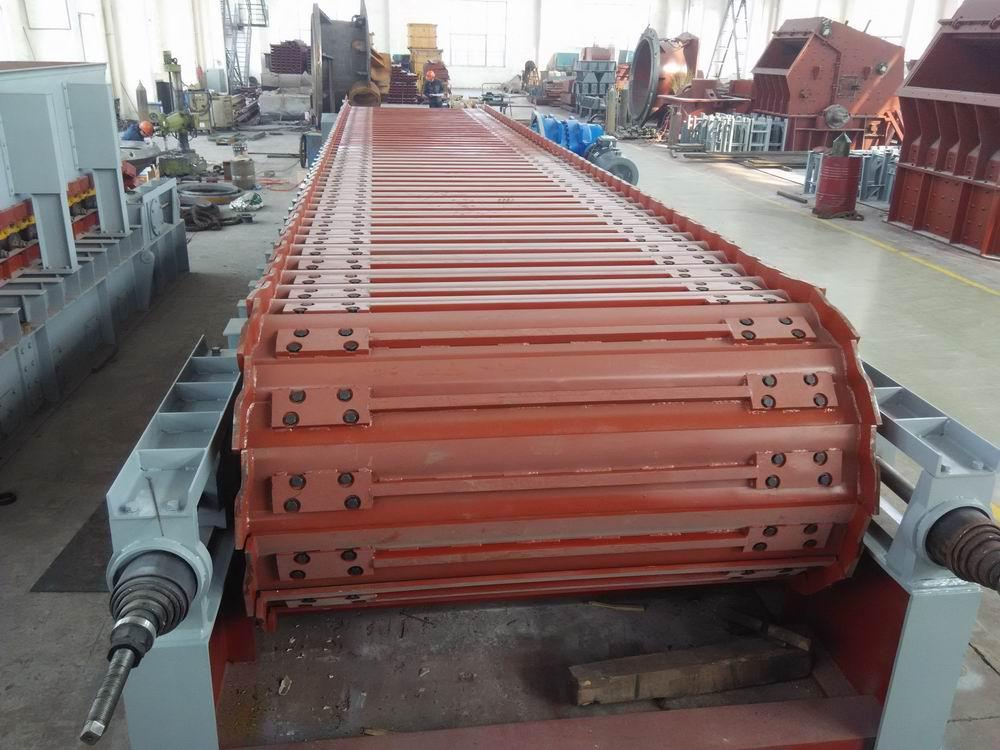 (2)采购数量: wbz2000×10000重型板式给料机 1台 &